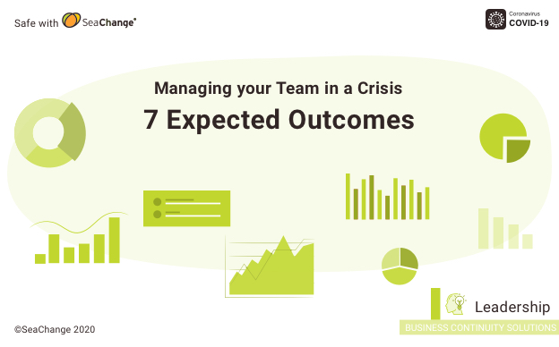 Leading your Team during a Crisis: 7 Expected Outcomes